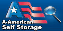 Logo of A-American Self Storage - West LA